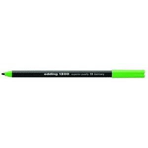 edding 1300 colour pen Fasermaler - 2 mm - hellgrün