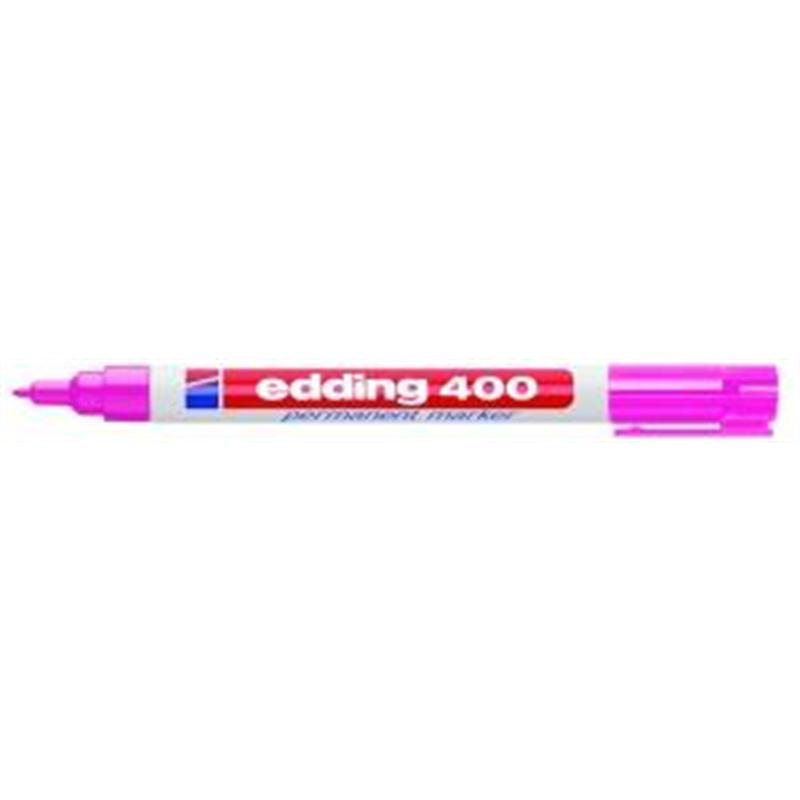 edding Permanentmarker 400, 1mm rosa