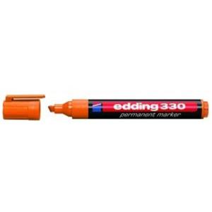 edding 330 Permanentmarker - Keilspitze - 1-5 mm - orange