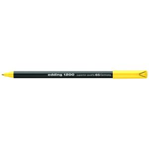 edding 1200 colour pen fine Fasermaler - 1 mm - neongelb