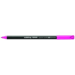 edding 1200 colour pen fine Fasermaler - 1 mm - neonrosa