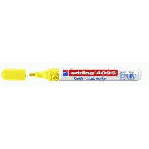 edding 4095 Kreidemarker - 2-3 mm - neongelb