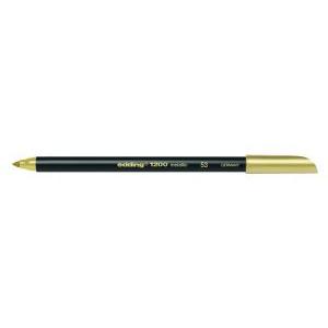 edding 1200 metallic pen Fasermaler - 1 mm - metallic gold