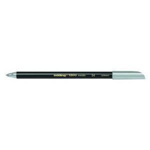 edding 1200 metallic pen Fasermaler - 1 mm - metallic silber