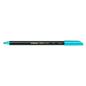 edding 1200 metallic pen Fasermaler - 1 mm - metallic blau