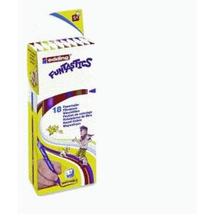 edding 15 Funtastics Kinderfasermaler - 1 mm - 18er Set
