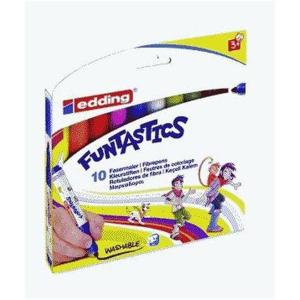 edding 14 Funtastics Kinderfasermaler - 3 mm - 10er Set