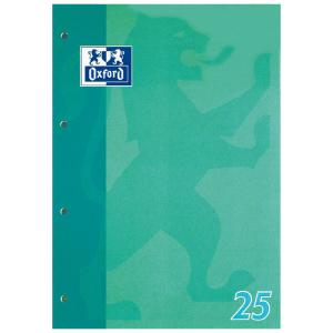 Oxford Schulblock - DIN A4 - Lineatur 25 - 50 Blatt