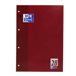 Oxford Schulblock - DIN A4 - Lineatur 28 - 50 Blatt