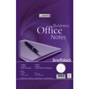 Landré Briefblock A4 WORK 50Bl rautiert