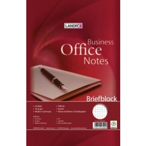 Landré Briefblock A4 WORK 50Bl kariert