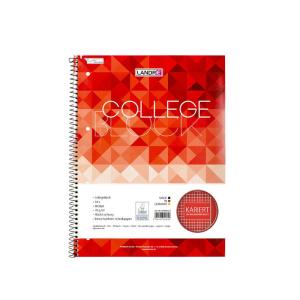 Landré Collegeblock A4+ 80 Blatt kariert