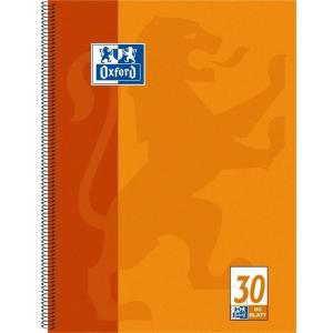 Oxford Collegeblock - DIN A4+ blanko - 80 Blatt
