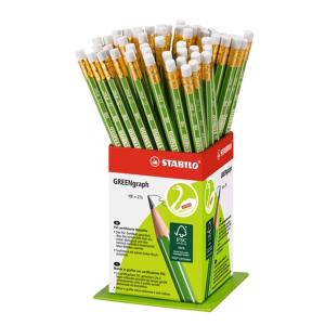 STABILO GREENgraph Bleistift - Härtegrad HB - mit...