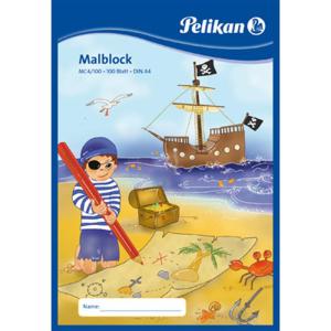 Pelikan Malblock – chlorfrei – DIN A4 - 100...
