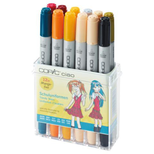 Copic Ciao Set Schuluniform 12St