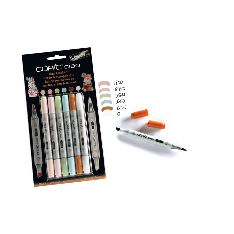 Copic Ciao 5+1 Blender Set 1 NL