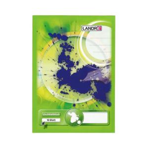 Landré Löschblattblock - DIN A5 - 10 Blatt