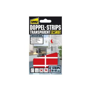 UHU Doppelstrips Transparent 45515