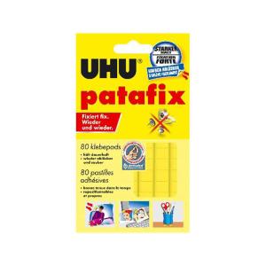 UHU Klebepad - patafix Orignal - gelb 80 Stück
