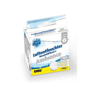UHU Luftentfeuchter Ambiance Tabs, neutral, 2 x 100 g