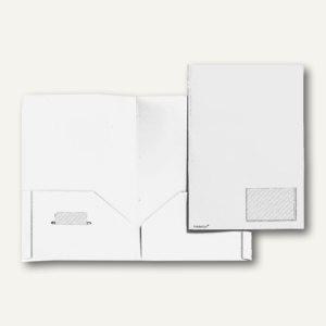 FolderSys Broschüren-Mappe, Standard, weiß, A4