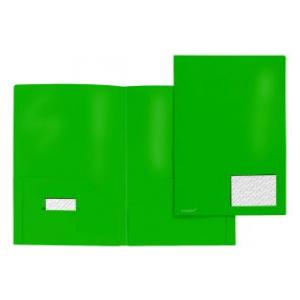 FolderSys Broschüren-Mappe, Standard, grün, 1