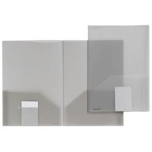 FolderSys Broschüren-Mappe, Transparent, rauchtopas, 1