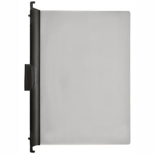 FolderSys Combi-Clip-Mappe, Transparent, schwarz