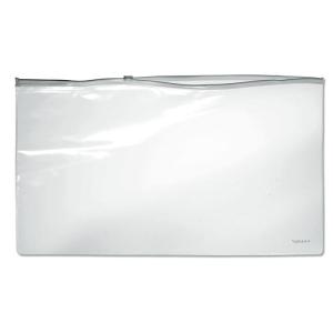 FolderSys Klarsicht-Sammelbeutel 260x405mm, Plastikzipp weis