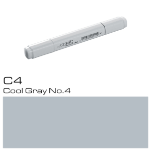 COPIC Classic Marker C4 Cool Gray