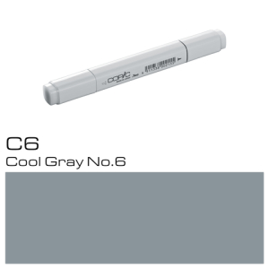 COPIC Classic Marker C6 Cool Gray