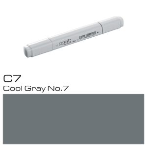COPIC Classic Marker C7 Cool Gray