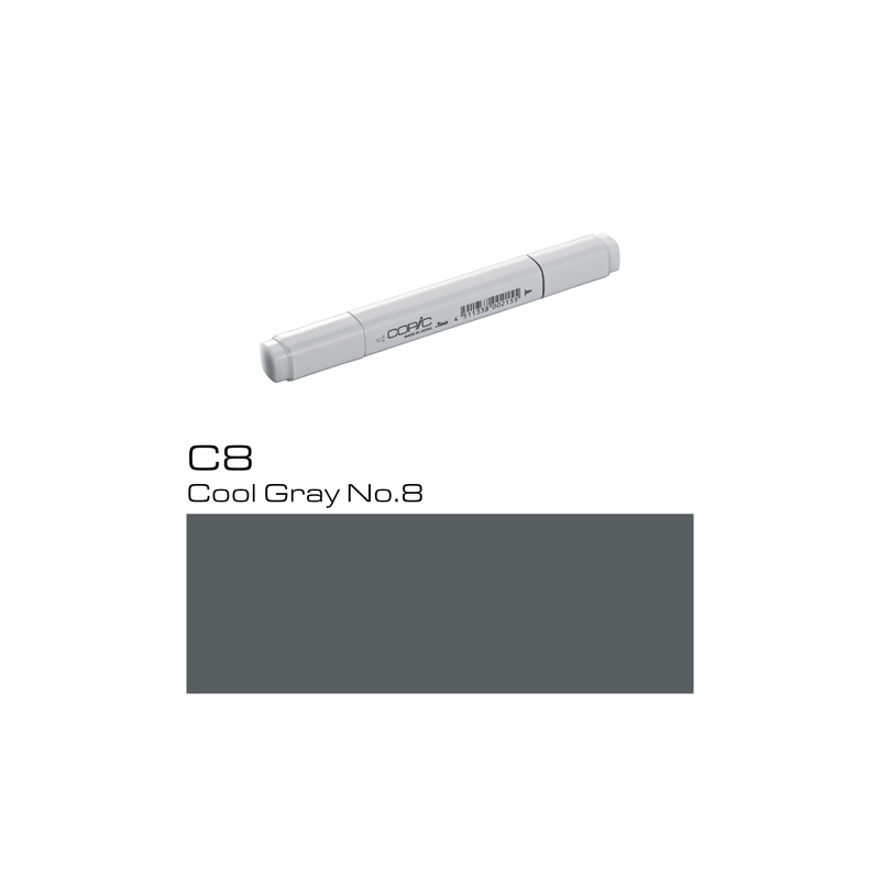 COPIC Classic Marker C8 Cool Gray