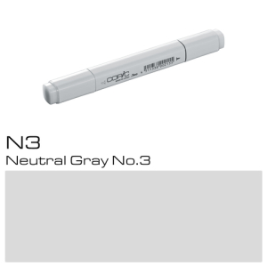 COPIC Classic Marker N3 - Neutral Gray No. 3