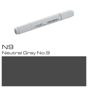COPIC Classic Marker N9 Neutral Gray No.9