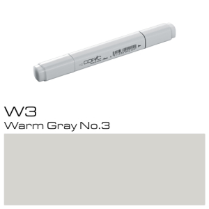 COPIC Classic Marker W3 Warm Gray No.3