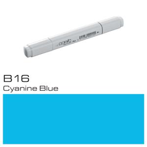 COPIC Classic Marker B16 - Cyanine Blue