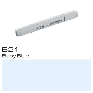 COPIC Classic Marker B21 - Baby Blue