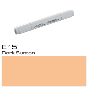 COPIC Classic Marker E15 Dark Suntan