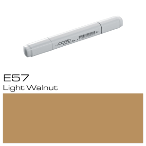 COPIC Classic Marker E57 Light Walnut