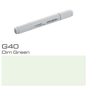 COPIC Classic Marker G40 - Dim Green