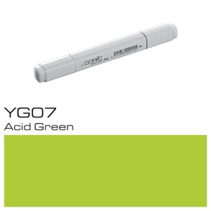 COPIC Classic Marker YG07 - Acid Green