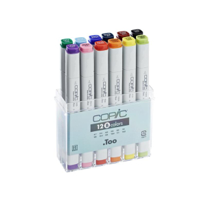 COPIC Classic 12er Set Basis