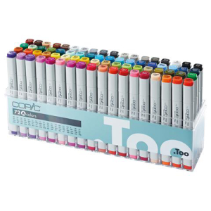 COPIC Classic Marker 72er Set - A