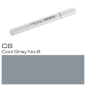 COPIC sketch C6 Cool Gray No.6
