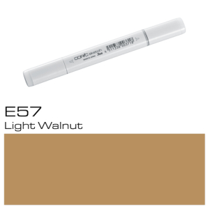 COPIC sketch E57 Light Walnut