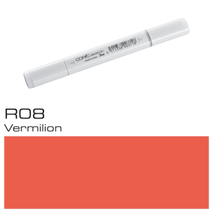 COPIC sketch R08 Vermilion