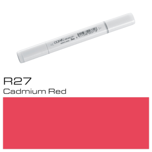 COPIC sketch R27 Cadmium Red