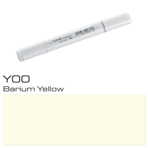 COPIC sketch Y00 Barium Yellow